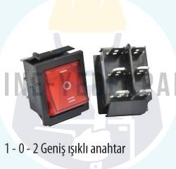 UNI-T - 1-0-2 GENİŞ İŞIKLI ŞALTER