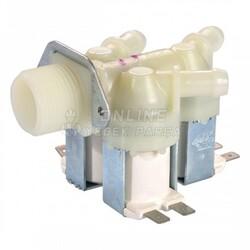 ARÇELİK - Arçelik Çamaşır Makinesi Üçlü Su Giriş Ventili (Metal Braketli)