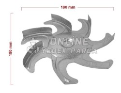 Fırın Fan Motoru Pervanesi - Thumbnail