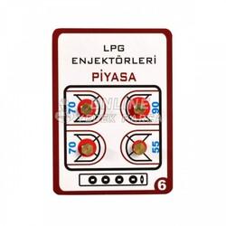 ÜNİVERSAL - Lpg Dönüşüm Enjektörü - 5,5mm