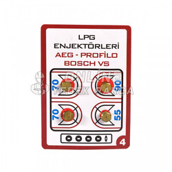 ÜNİVERSAL - Lpg Dönüşüm Enjektörü - 7mm