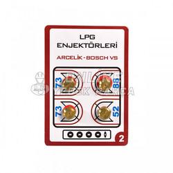 ÜNİVERSAL - Lpg Dönüşüm Enjektörü - 9mm