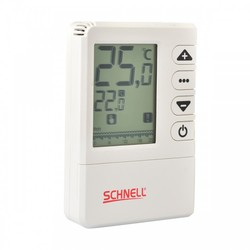 SCHNELL - S.202A.RF Programlanabilir Dijital Termostat Kablosuz