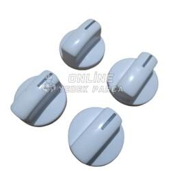 SİEMENS - Siemens Set Üstü Ocak Düğme Takımı (Beyaz)